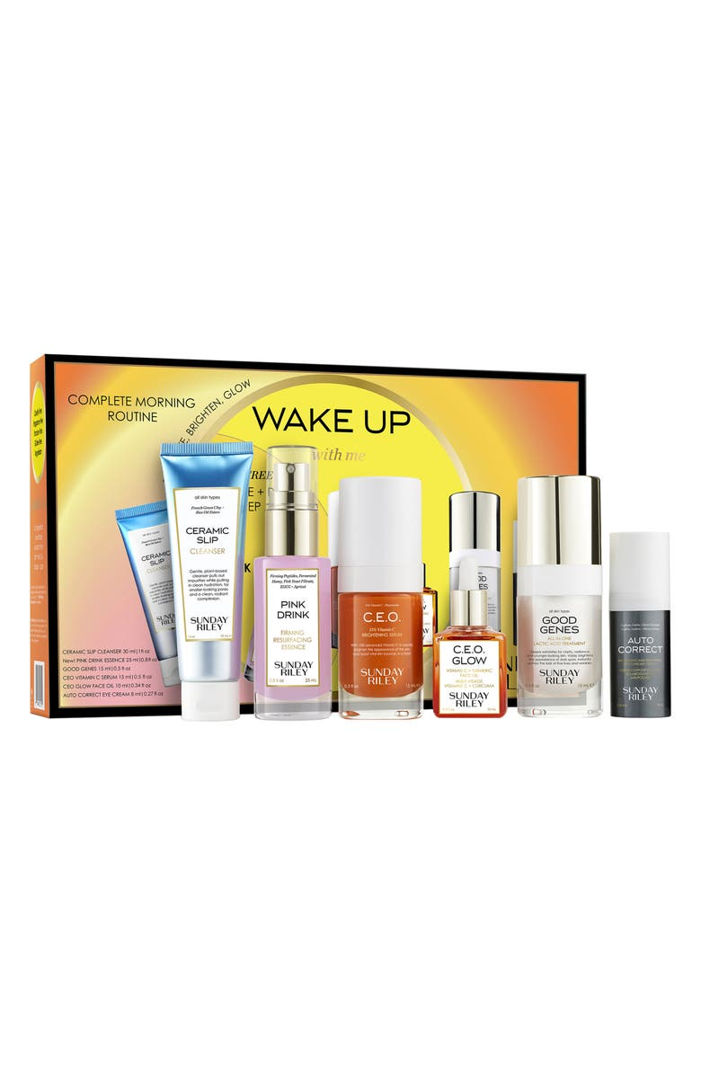 SUNDAY RILEY Wake Up With Me Complete Brightening Morning Routine, Main, color, 000