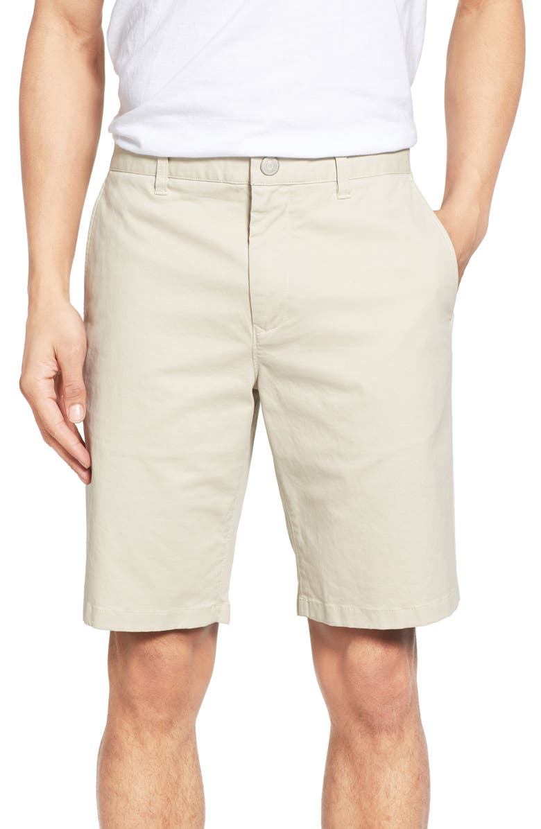 BONOBOS Stretch Washed Chino 9-Inch Shorts, Main, color, WHEAT