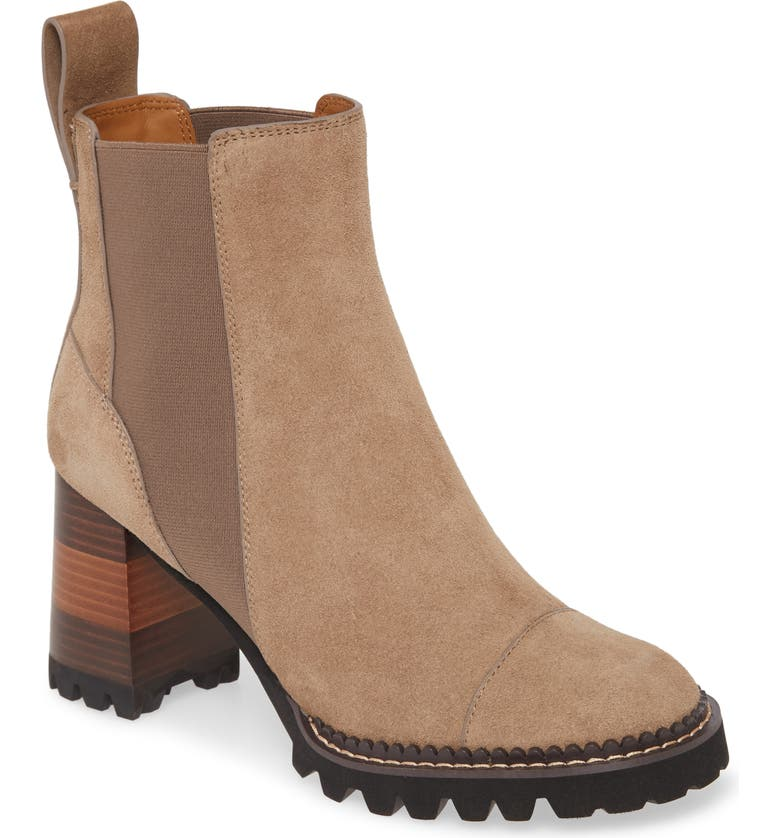 SEE BY CHLOÉ Mallory Block Heel Bootie, Main, color, 251