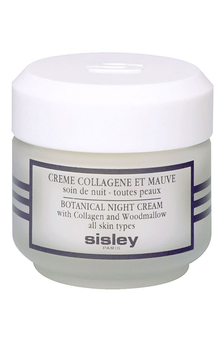 SISLEY PARIS Sisley Cosmetics Botanical Night Cream With Collagen and Woodmallow, Main, color, No Color