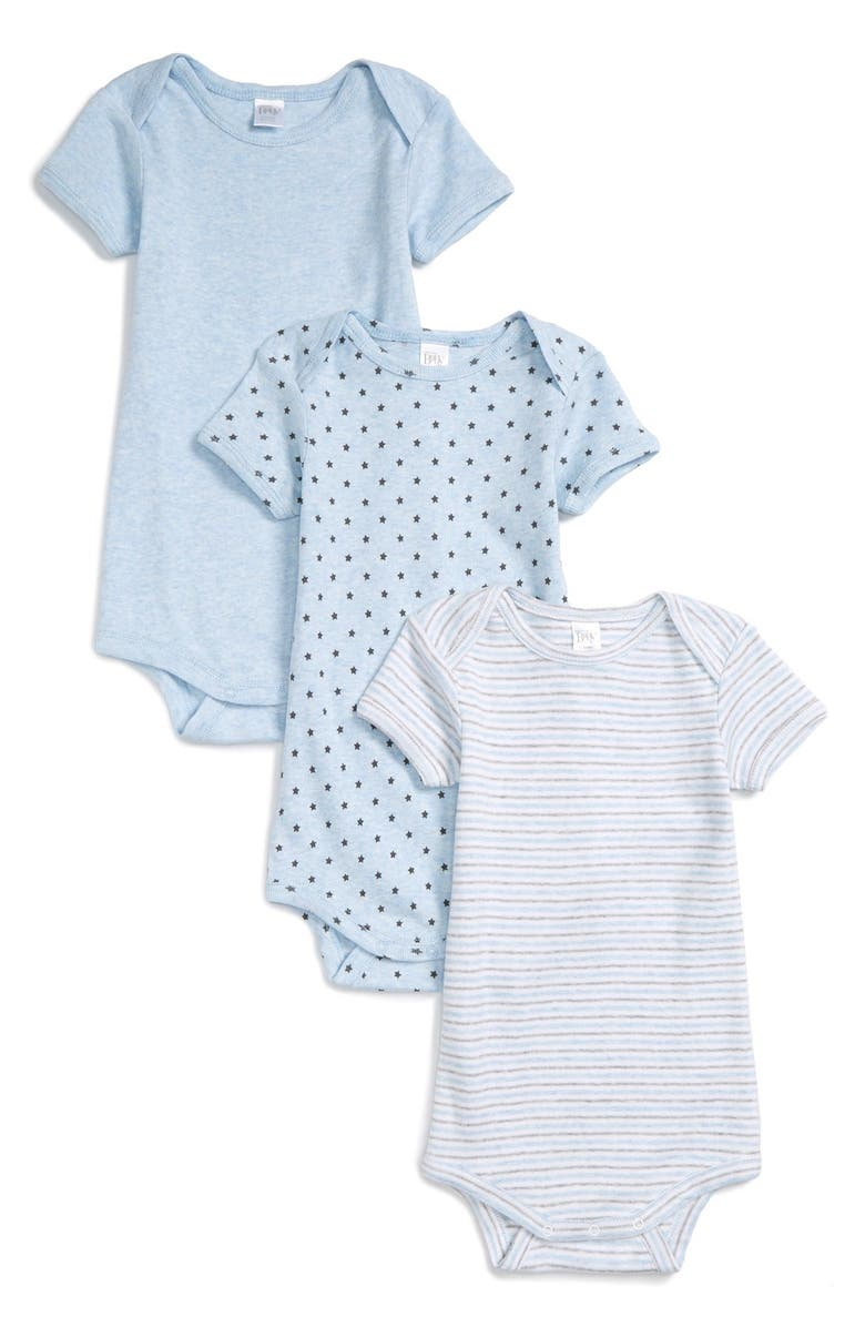 NORDSTROM BABY 3-Pack Bodysuits, Main, color, 450