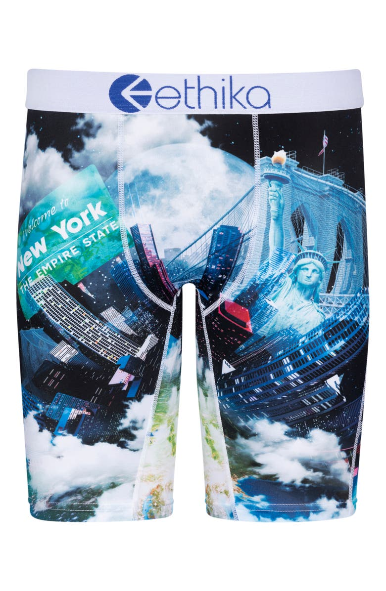 ETHIKA Kids' Empire State Boxer Briefs, Main, color, ASSORTED