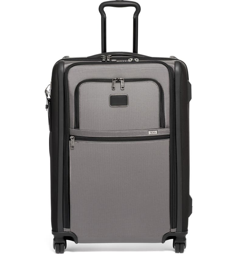 TUMI Alpha 2 Short Trip Rolling Four Wheel Packing Case, Main, color, GREY