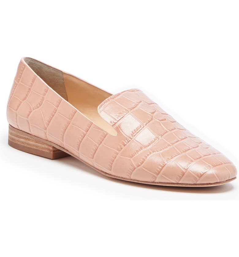 SOLE SOCIETY Takina Loafer, Main, color, WASHED PINK LEATHER