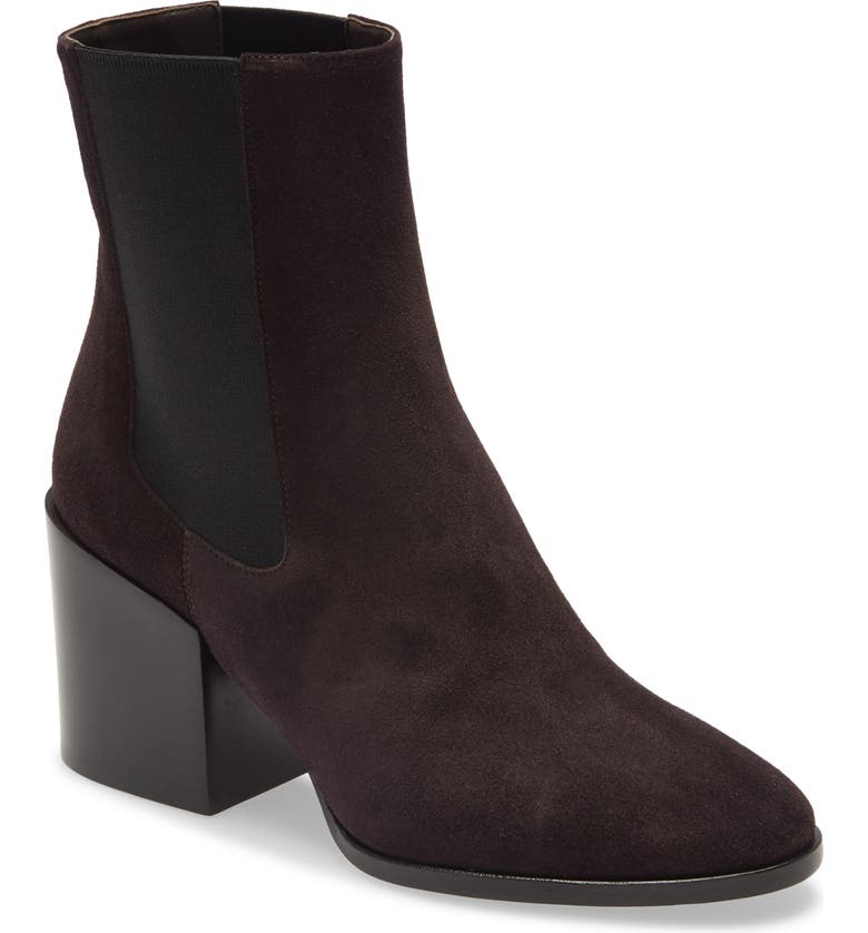DRIES VAN NOTEN Block Heel Chelsea Bootie, Main, color, 021