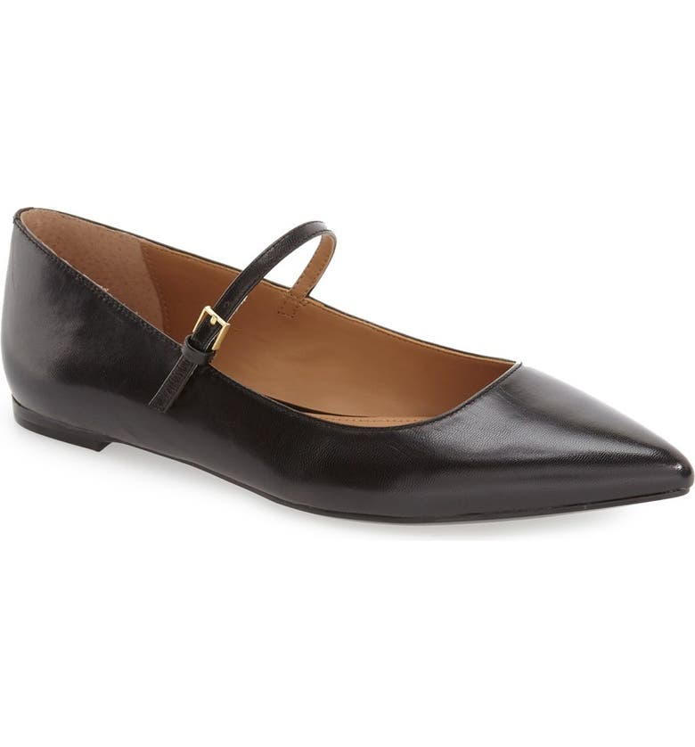 CALVIN KLEIN 'Gracy' Mary Jane Flat, Main, color, 001