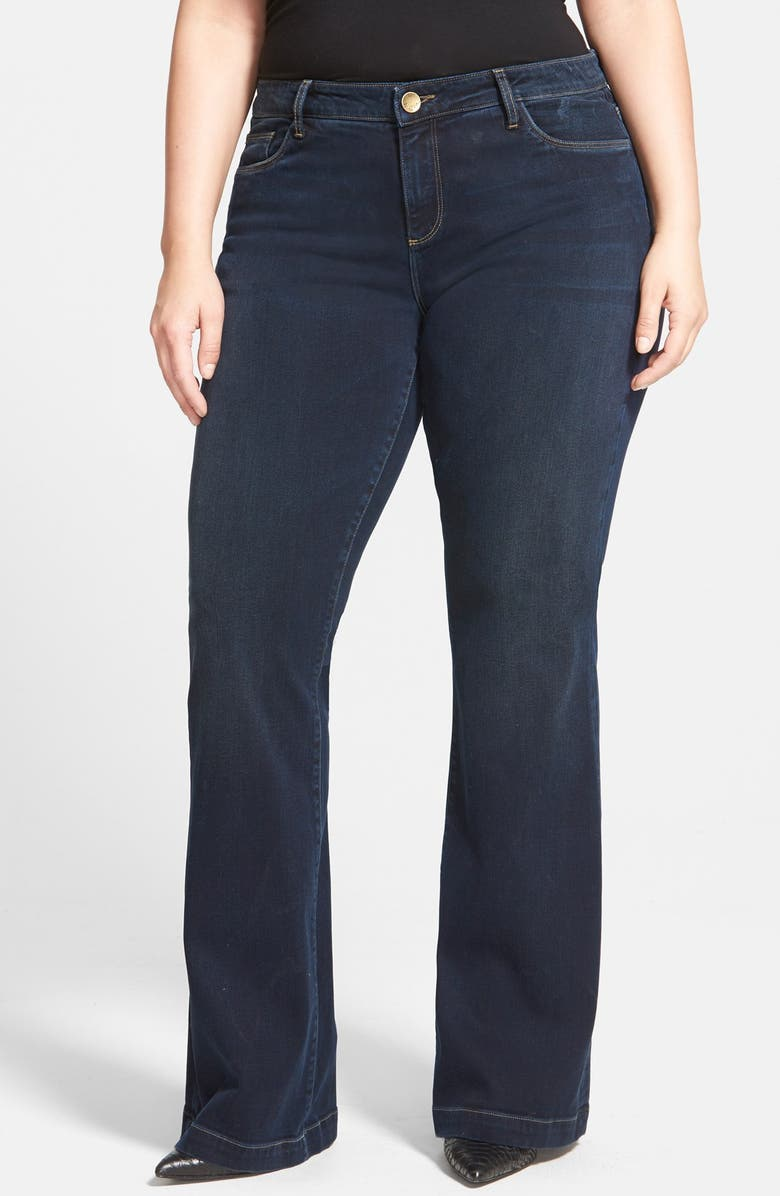 KUT FROM THE KLOTH 'Chrissy' Stretch Flare Leg Jeans, Main, color, BREEZY