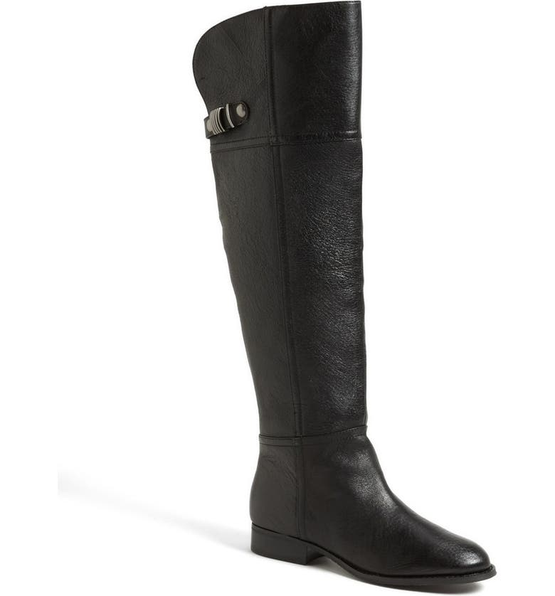 CHINESE LAUNDRY 'Flash' Over the Knee Riding Boot, Main, color, 001