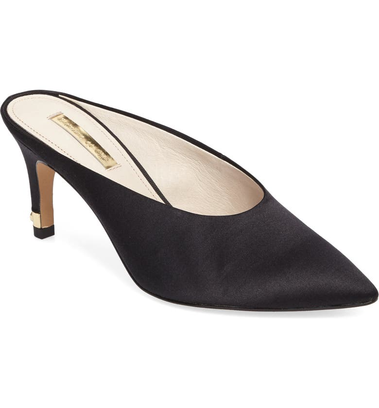 LOUISE ET CIE Karas Pointy Toe Mule Pump, Main, color, 004