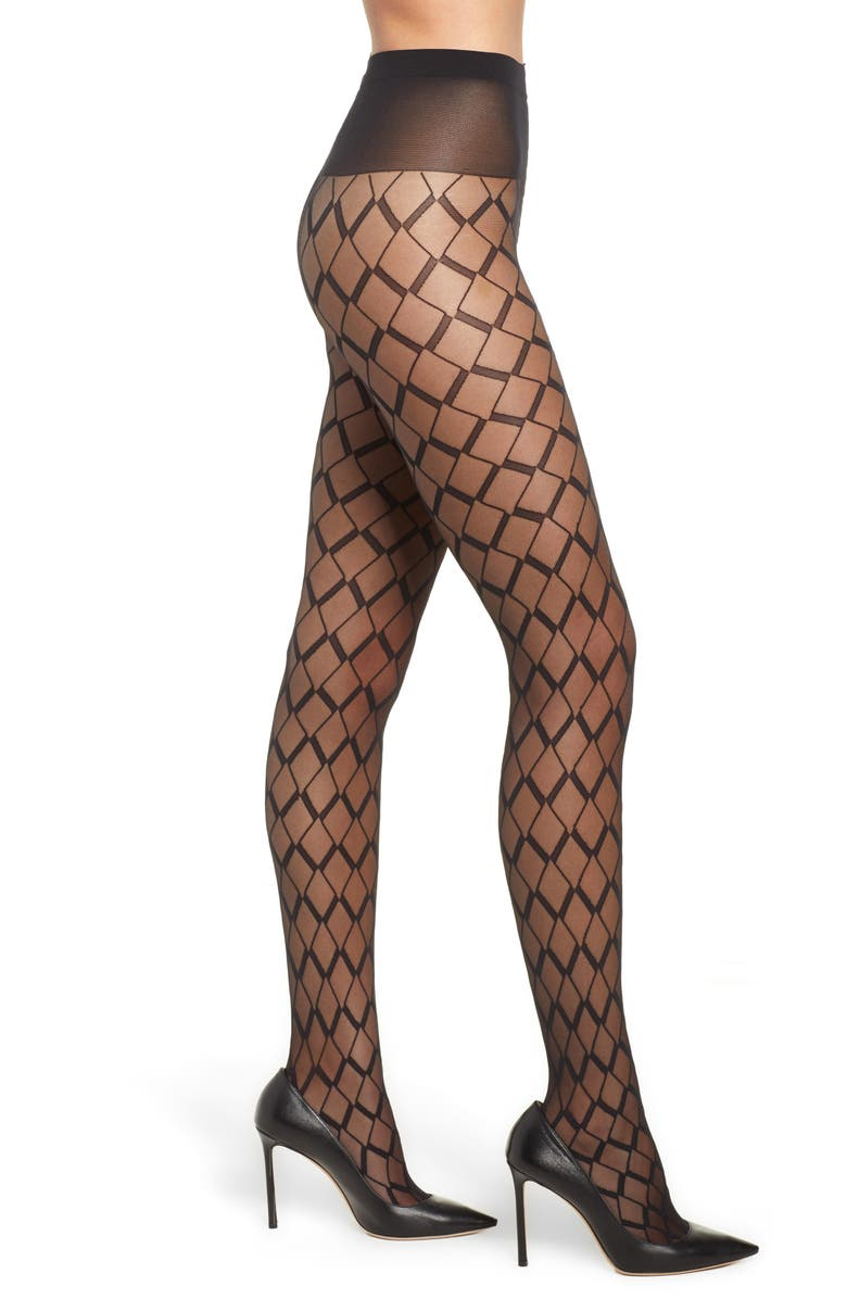 OROBLU Sheer Vector Tights, Main, color, 001