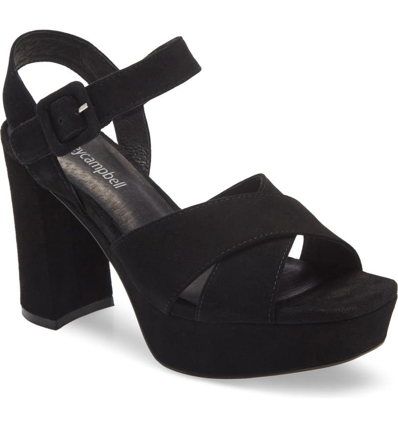 JEFFREY CAMPBELL Amma Platform Sandal, Main, color, 005
