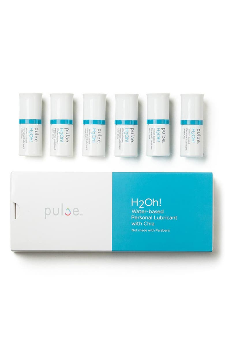 PULSE 6-Pack H2Oh! Water-based Personal Lubricant, Main, color, NO COLOR