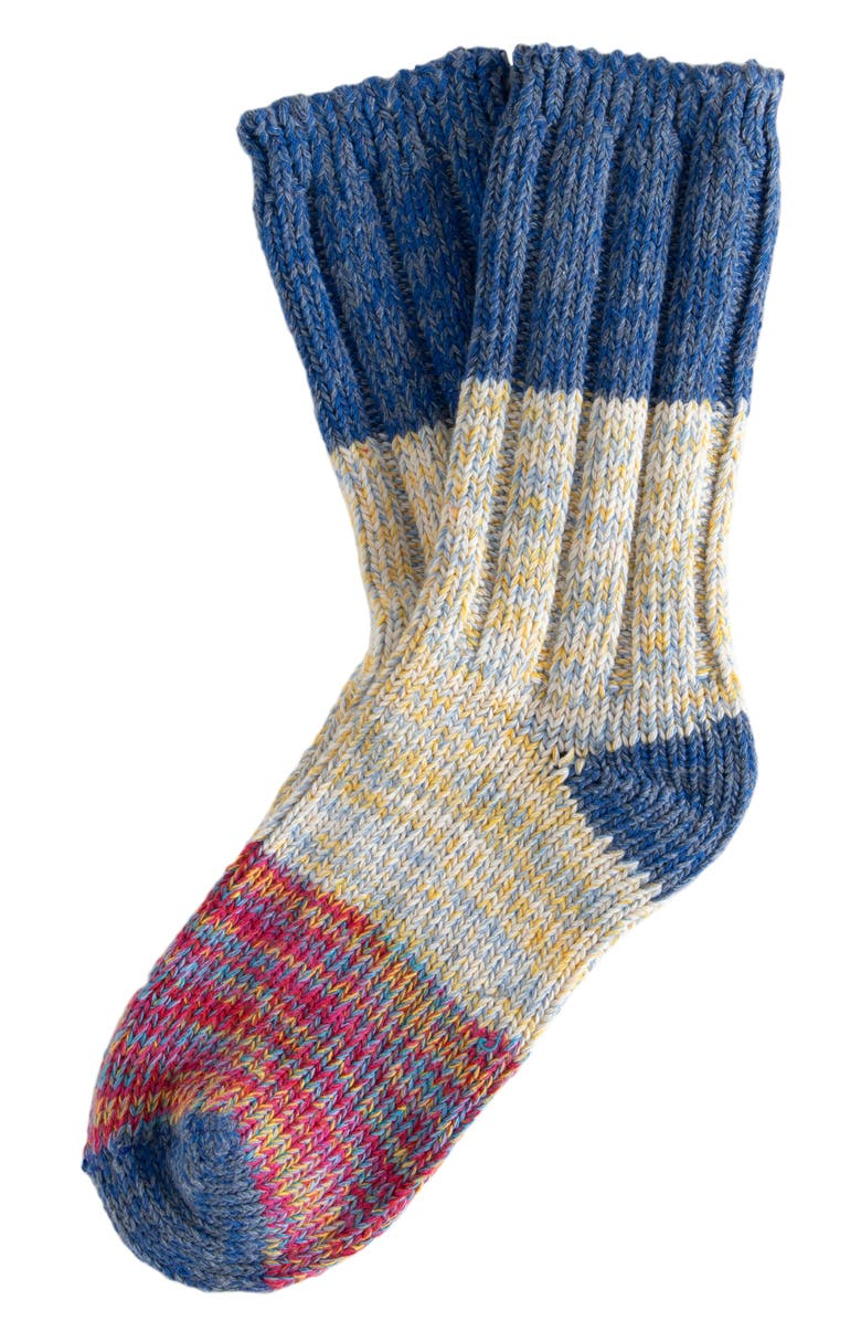 THUNDERS LOVE Recycled Cotton Blend Socks, Main, color, 400