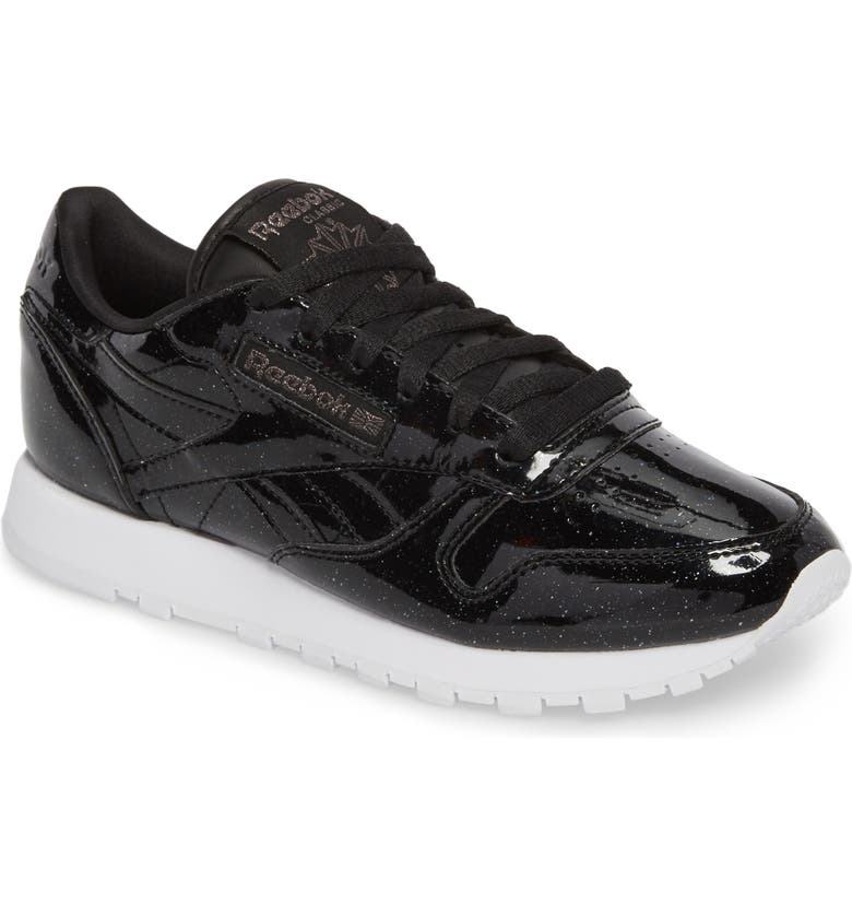 REEBOK Classic Leather Sneaker, Main, color, 001