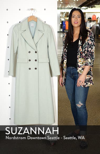 x Atlantic-Pacific Double Breasted Long Coat, sales video thumbnail