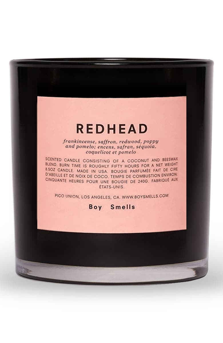 BOY SMELLS Redhead Scented Candle, Main, color, Pink