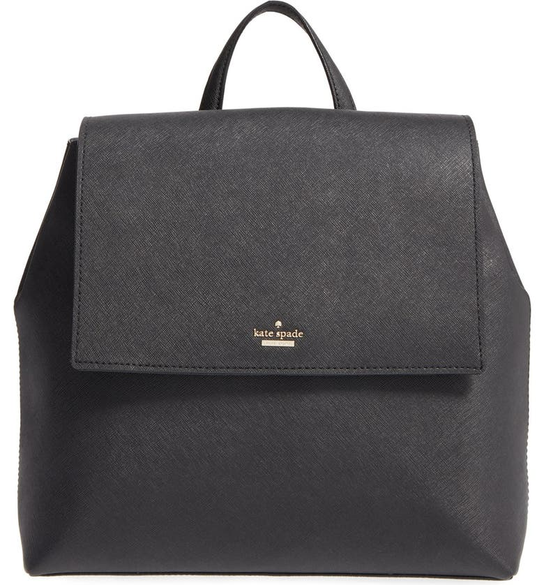 KATE SPADE NEW YORK 'cameron street - neema' leather backpack, Main, color, 001