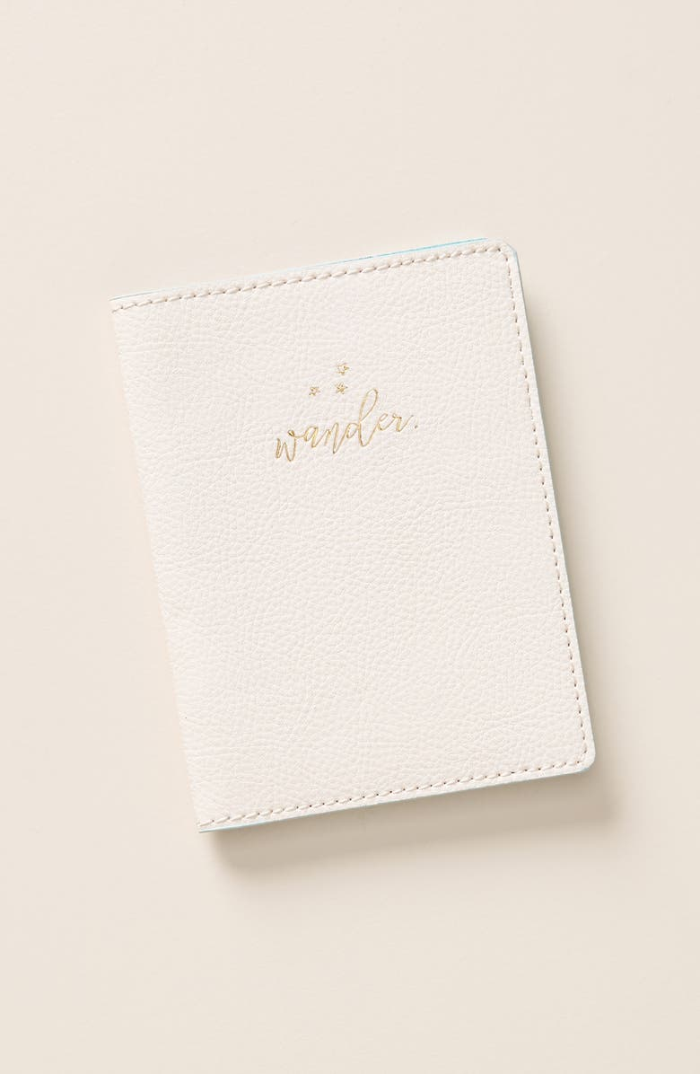 ANTHROPOLOGIE HOME Anthropologie Seraphina Passport Case, Main, color, Pink