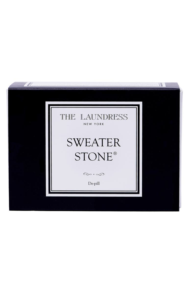 THE LAUNDRESS Sweater Stone, Main, color, Black