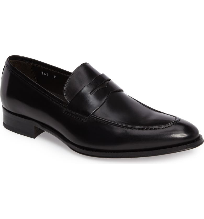 TO BOOT NEW YORK Alexander Penny Loafer, Main, color, 001