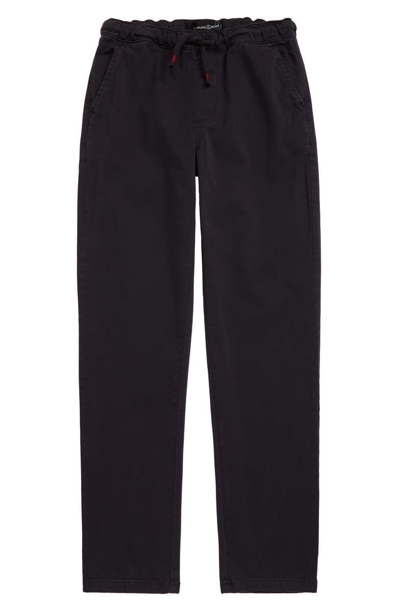 TREASURE & BOND All Day Relaxed Pants, Main, color, NAVY CHARCOAL