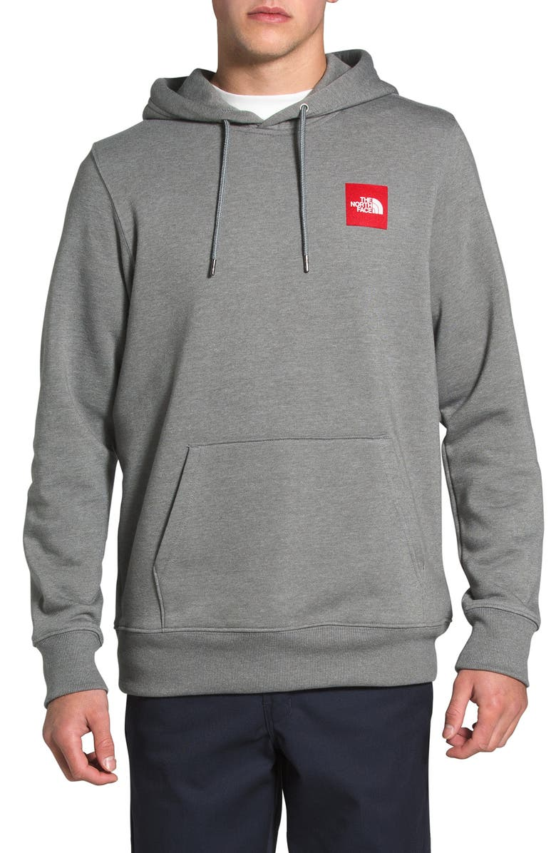 THE NORTH FACE 2.0 Red Box Hoodie, Main, color, TNF MEDIUM GREY HEATHER