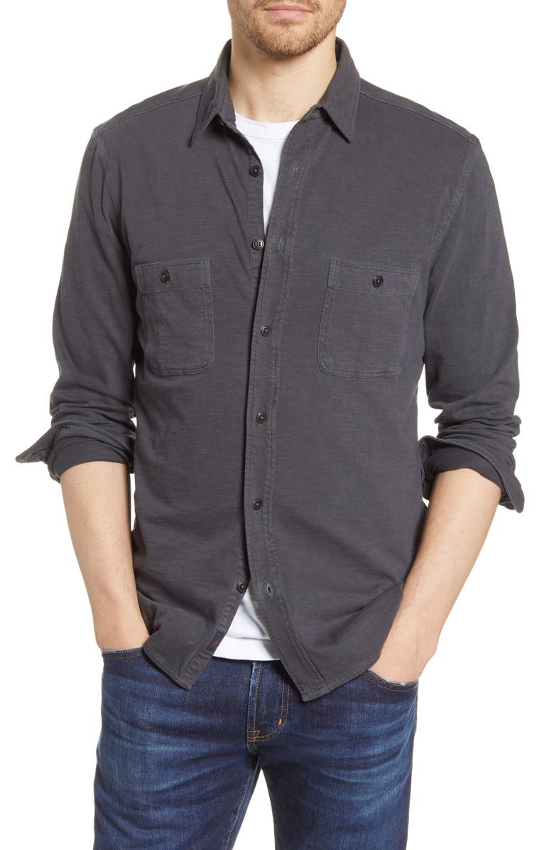 FAHERTY Brand Seasons Button-Up Shirt, Main, color, 018