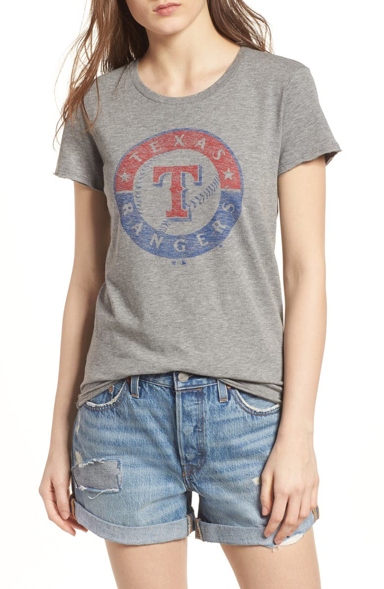 '47 Texas Rangers Fader Letter Tee, Main, color, 021