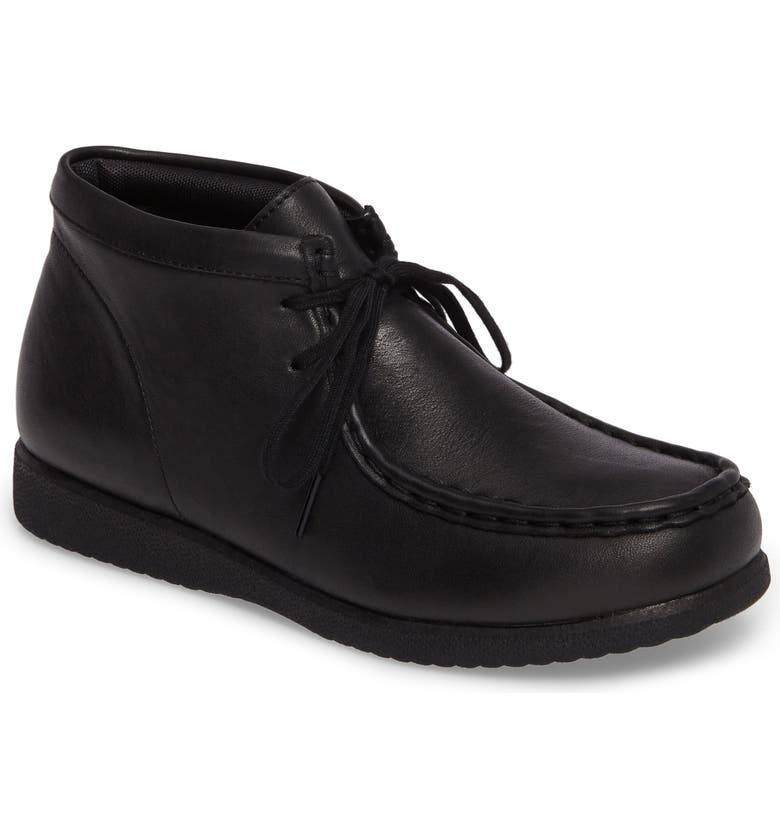 HUSH PUPPIES<SUP>®</SUP> Bridgeport III Chukka Boot, Main, color, BLACK LEATHER