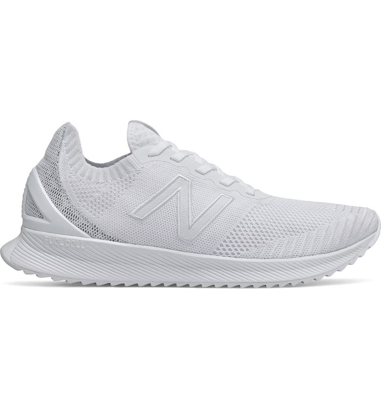 NEW BALANCE FuelCell Echo Running Shoe, Main, color, WHITE