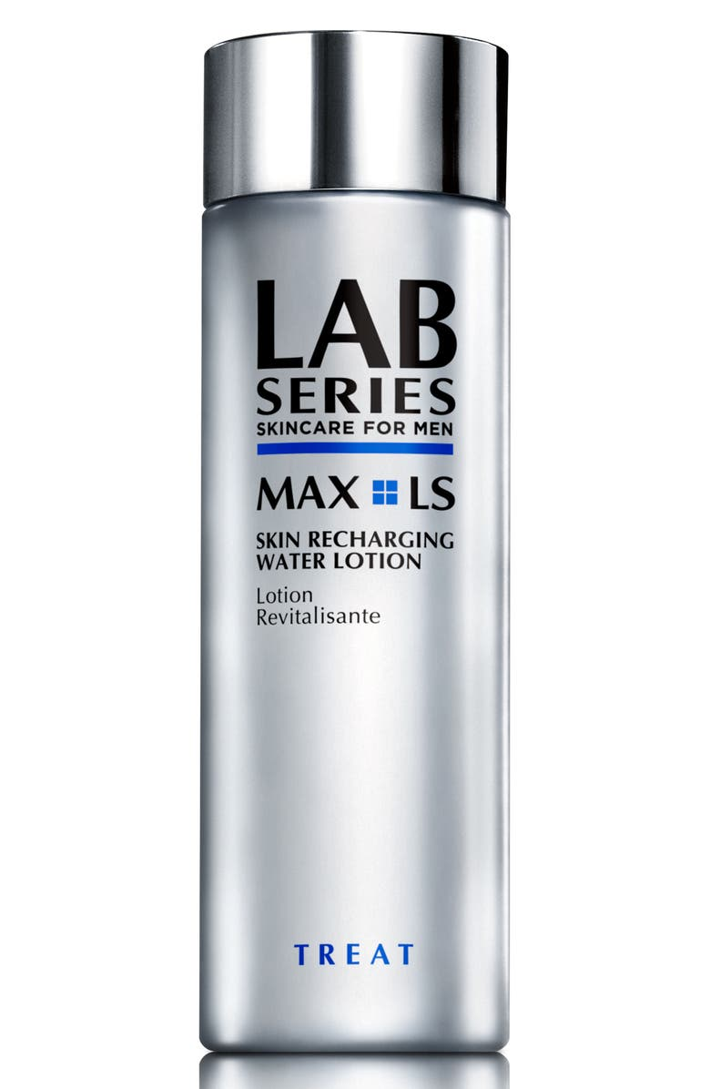 LAB SERIES SKINCARE FOR MEN MAX LS Skin Recharging Water Lotion, Main, color, NO COLOR