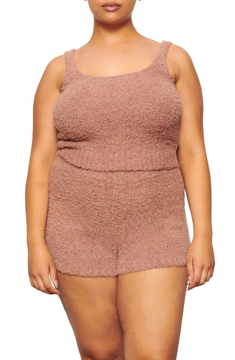 SKIMS Cozy Knit Tank, Main, color, ROSE CLAY