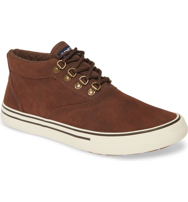 SPERRY Striper II Storm Waterproof Chukka Boot, Main, color, BROWN LEATHER