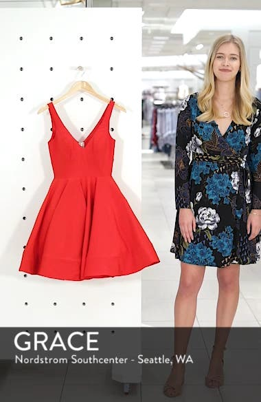 Fit & Flare Cocktail Dress, sales video thumbnail