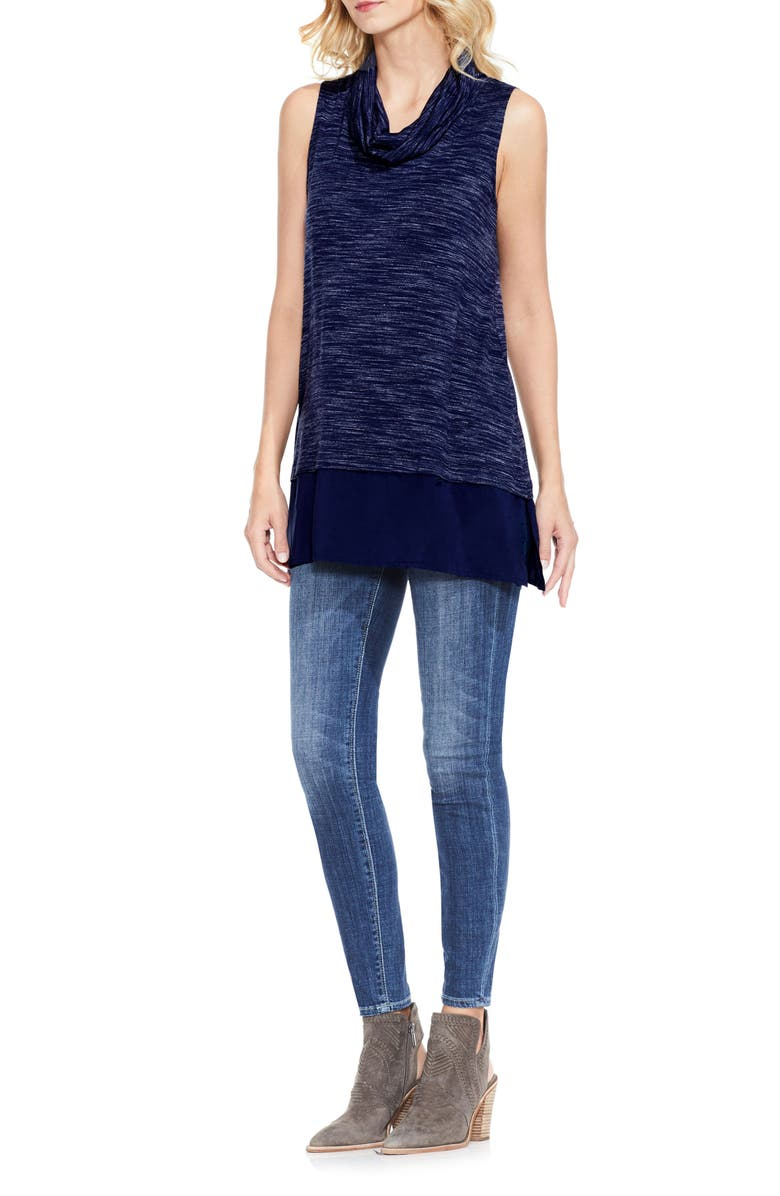 TWO BY VINCE CAMUTO Space Dye Knit Top, Main, color, 461