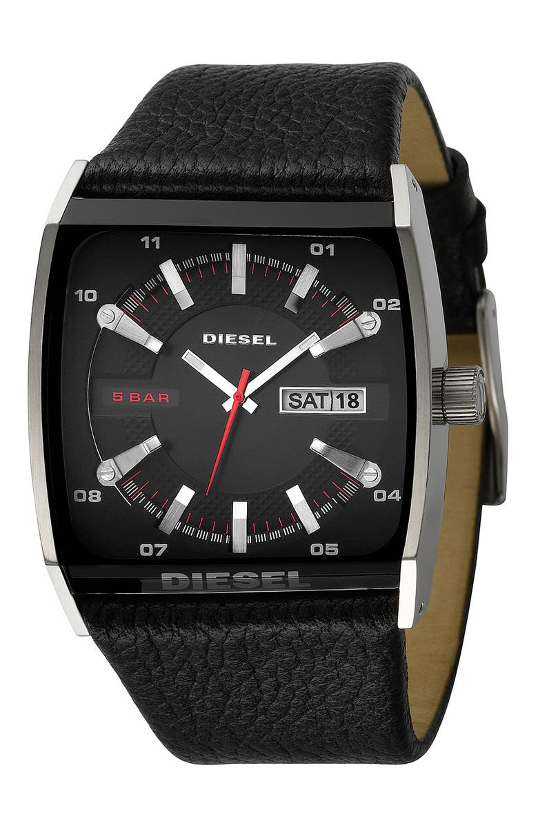 DIESEL<SUP>®</SUP> Cushion Watch, Main, color, 001