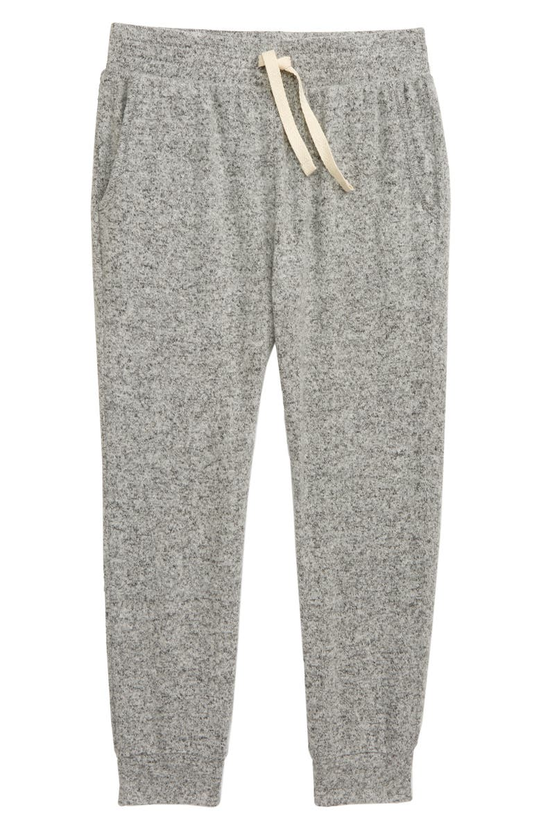 TUCKER + TATE Kids' Cozy Knit Joggers, Main, color, GREY LIGHT HEATHER