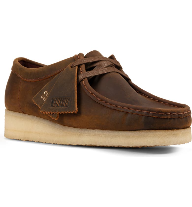 CLARKS<SUP>®</SUP> ORIGINALS Wallabee Chukka, Main, color, BEESWAX/ BEESWAX LEATHER