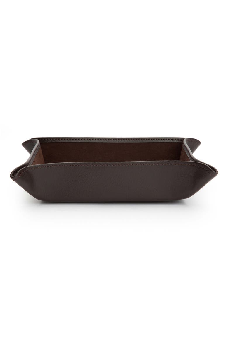 WOLF Blake Snap Coin Tray, Main, color, Brown