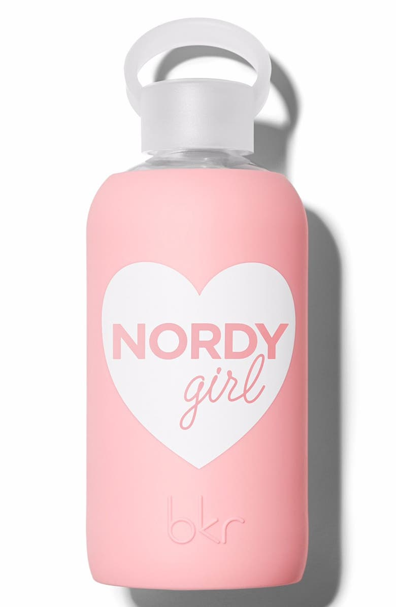 BKR <sup>®</sup> Nordy Girl 16-Ounce Glass Water Bottle, Main, color, No Color