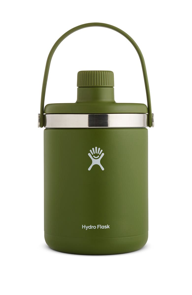 HYDRO FLASK 64 oz. Oasis Hydro Flask - Olive, Main, color, OLIVE