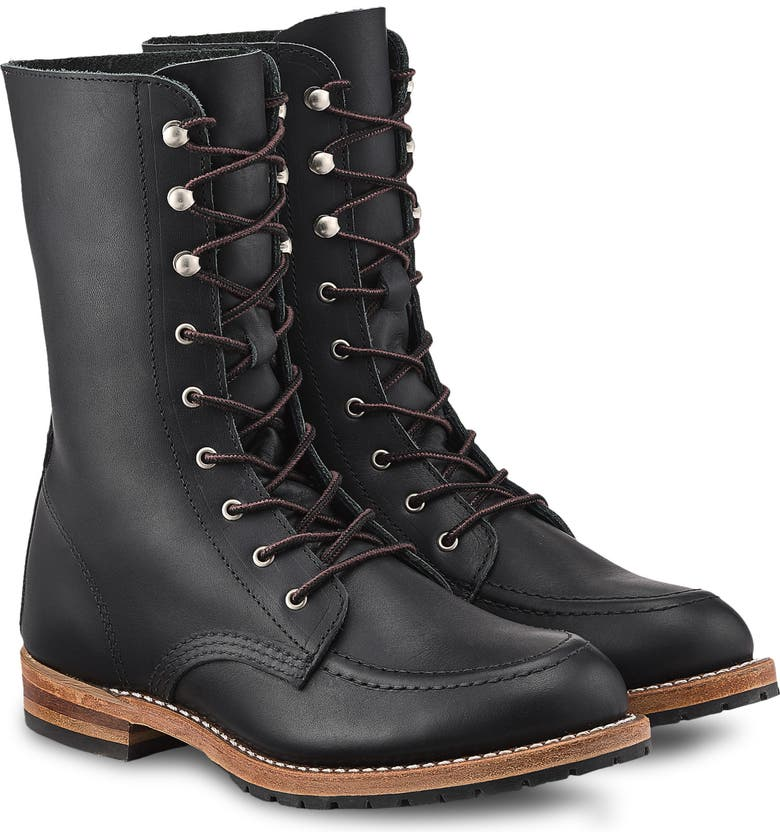 RED WING Gracie 8-Inch Moc Boot, Main, color, 001