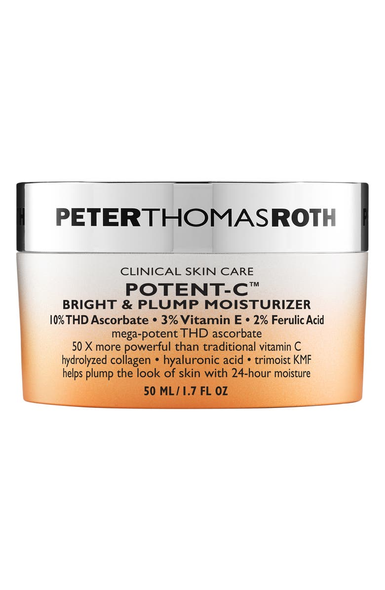 PETER THOMAS ROTH Potent-C Bright & Plump Moisturizer, Main, color, No Color