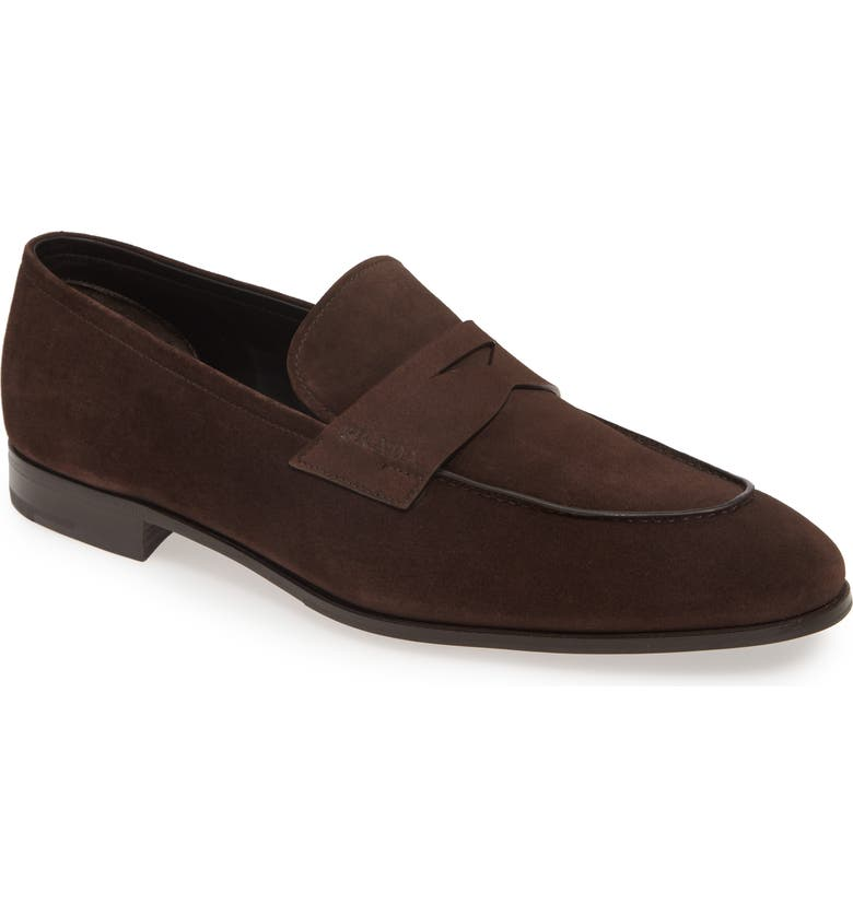 PRADA Penny Loafer, Main, color, 208