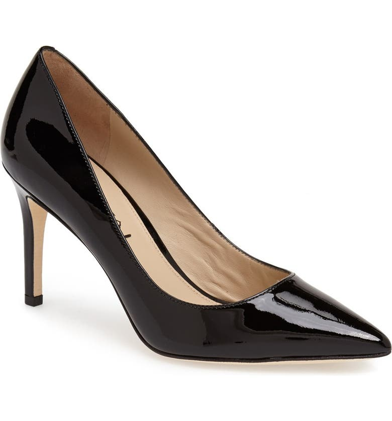 VIA SPIGA 'Carola' Pointy Toe Pump, Main, color, 001