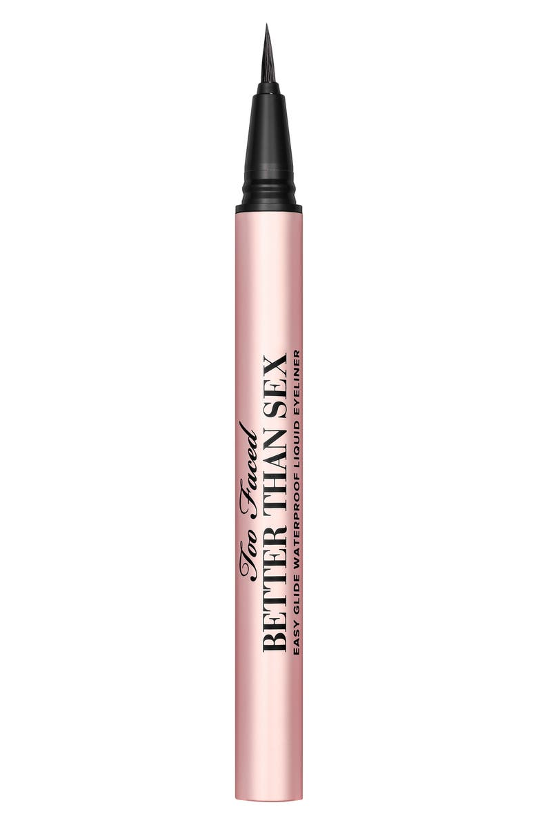 TOO FACED Better Than Sex Easy Glide Waterproof Liquid Eyeliner, Main, color, NO COLOR