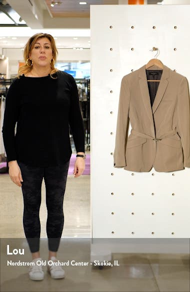 Andre Belted Blazer, sales video thumbnail