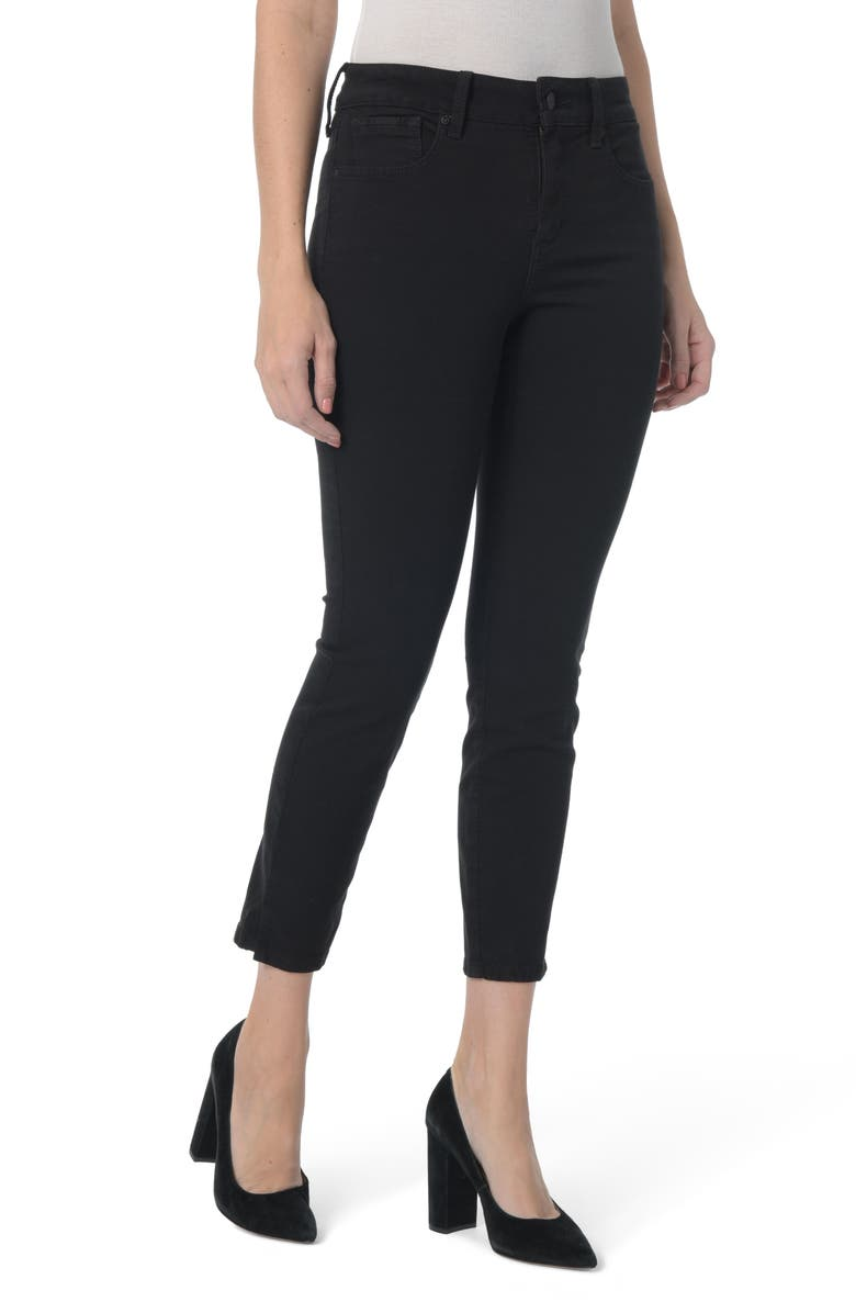 NYDJ Ami Stretch Ankle Skinny Jeans, Main, color, 001