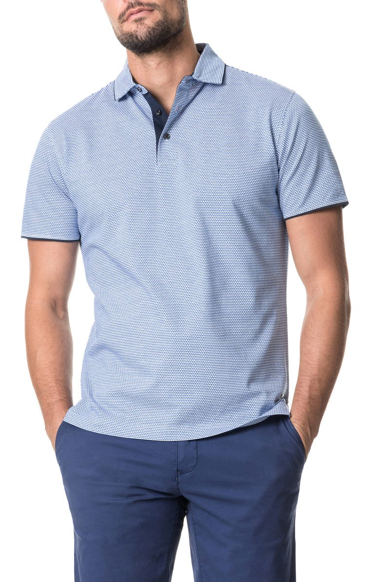 RODD & GUNN Alton Valley Short Sleeve Polo, Main, color, RIVIERA
