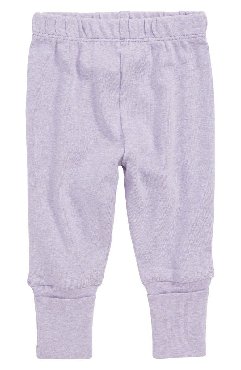 MONICA + ANDY Hello Baby Organic Cotton Jogger Pants, Main, color, 500